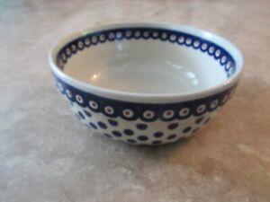 """Boleslawiec Polish Pottery Bowl, 7.5"""""""