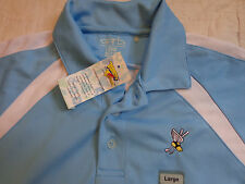 GARB POLO PLAY DRY WINGED FOOT GOLF CLUB,NY,YLG,LARGE BOYS,POLYESTER,EXCELLENT
