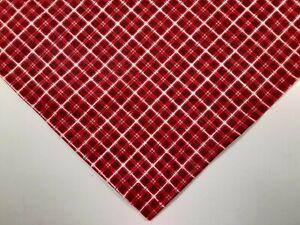 Dog Bandana, Tie On, Christmas, Red, White, Checked, Plaid, XS, S, M, L, xL