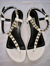 BALENCIAGA Arena Leather Studded Sandals IT 37