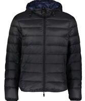 Armani Jeans men's down reversible hooded jacket XL - Packable & Water repellent