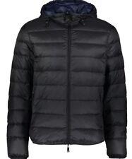 Armani Jeans men's down reversible hooded jacket L - Packable & Water repellent