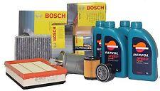 Kit 4 Lt Olio Repsol 10w40 + Filtro olio 0451103292  RENAULT CLIO II 1.0 - 1.2