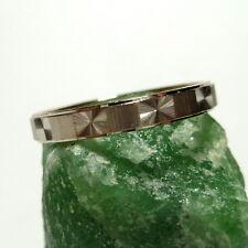 585/14k Gold Ring Engagement Wedding White Band 55 (17,5 mm Ø)