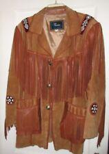 Echo Mountain Arturo  size 42 Brown Western/Native Design Beads/ Fringe