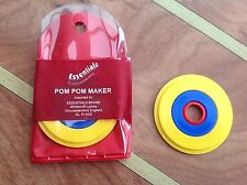 Essentials Pom Pom Maker - Makes 3 Sizes