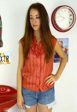 Waist Length Ruffle Classic Casual Tops & Shirts for Women