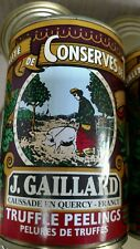 J. GAILLARD Black Truffle Peelings France 7 oz