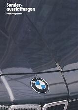 BMW Sonderausstattungen Prospekt 1983 1/83 Broschüre Autoprospekt brosjyre Auto