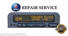 SAAB 93 95 SID2 SIU INFORMATION DISPLAY RADIO 5263223 - PIXEL REPAIR SERVICE FIX