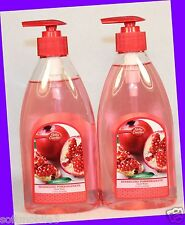 2 Betty Crocker SPARKLING POMEGRANATE Hand Wash Soap 13.5 oz ea Bottle w/ Pump
