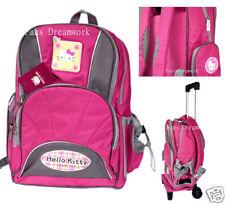 Maleta c/ Ruedas Separable~Original Mochila Hello Kitty