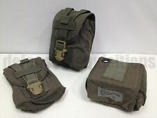 NEW EAGLE INDUSTRIES RLCS 1QT CANTEEN POUCH & MOLLE PROTECTIVE INSERT RANGER GRN