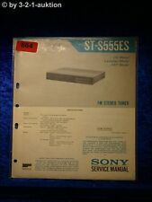 Sony Service Manual ST S555ES  Tuner (#0664)