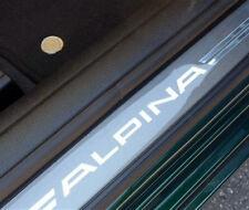 BMW F06 Gran Coupe Alpina B6 Blue Illuminated Doorstep Tread Plate OEM NEW