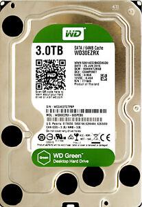 Western Digital (WD30EZRX) 3TB SATA III (LFF) 6Gb/S 5.4K HDD