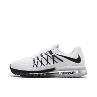 Men's Nike Air Max 2015 Running Shoes White/Black CD7625 100