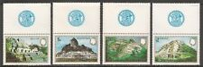 Belize #680-683 (A85) VF MNH - 1983 10c to $2 Mayan Monuments