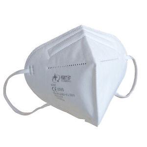 Masques faciaux jetables FFP2 Masque respiratoires de protection tissu 2-50 pcs