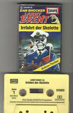 Dan Shocker Larry Brent - Hörspielkassette MC Folge 1 - Irrfahrt der Skelette