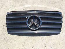 BLACK W124 Grille GRA-W124-9495W-CL-LGA-BK, E Class, New, (Fits: Mercedes)