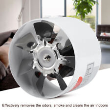 30W Silent Ventilation Fan Round Wall Extractor Window Blower Air Exhaust