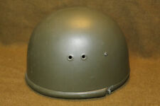 Original East German (Polish) Paratrooper Helmet, Complete w/Liner, Strap & Net