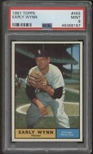 1961 Topps #455 Early Wynn Red Sox PSA 9 Mint