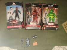 Marvel Legends Spider-Man Into The Spider-Verse Stilt-Man BAF Wave Complete