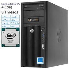 HP Z420 Extrem Gaming Workstation PC Xeon E5-2637v2 i7 ❹ Core 32GB RAM 480GB SSD