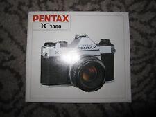 Vtg PB instruction booklet for Pentax K1000 35mm SLR camera