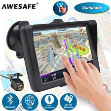 "7""awesafe GPS Navigator for Car Truck SAT Navi 8gb Bluetooth and Sunshade AU Map"
