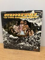 VINTAGE LP VINYL RECORD STEPPENWOLF AT YOUR BIRTHDAY PARTY