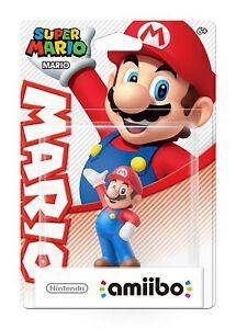 Super Mario Mario Amiibo Nintendo 3DS Wii WiiU Switch - Brand New!