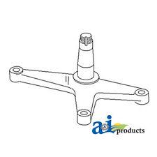 John Deere Parts BELLCRANK  AL55151  2755 (MIDDLE HIGH VERSION AXLE), 2555 (MIDD