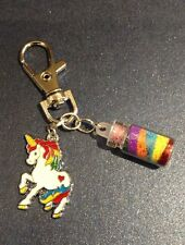 Unique Cute Unicorn Bag Charm with Magic Dust Perfect Party Bag Gift / Filler