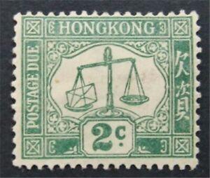 nystamps British Hong Kong Stamp # J2 Mint OG H    S24x2550