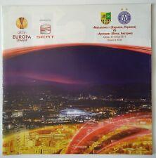 Programm UEFA EL 2011/12 Metalist Kharkiv - Austria Wien