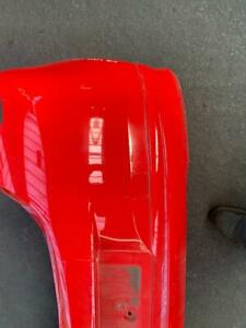 VAUXHALL CORSA E LIMITED EDITION COMPLETE REAR BUMPER IN RED- COLOUR CODE-Z547