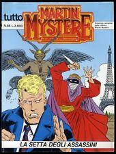 TUTTO MARTIN MYSTERE - N° 88 - AGOSTO 1996 - BONELLI - CONDIZIONE OTTIMO