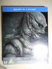 Creature From The Black Lagoon 3D Steelbook Limited Edition Blu-Ray UK Import