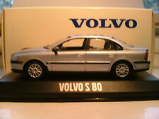 WOW EXTREMELY RARE SILVER MINICHAMPS 1/43 1999 VOLVO S80  NLA OUTSTANDING DETAIL