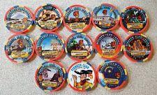 $5 Las Vegas Pioneer Club Casino Chip Set of 12 - UNC