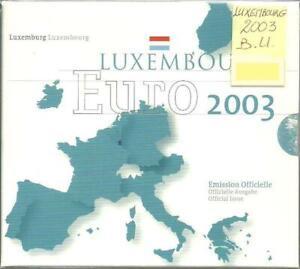 Luxembourg - Coffret Brillant Universel 2003
