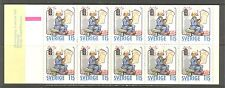 COMIC STRIPS, CHRISTMAS ON SWEDEN 1980 Scott 1336a, BOOKLET, MNH