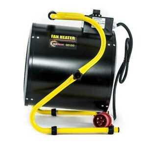 Outdoor Heater Olympus JetHeat OLY-J9/3 Industrial 9kW Electric Fan 415V~50Hz