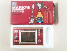GAME AND WATCH. MARIO´S CEMENT FACTORY