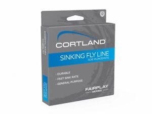 Cortland Fairplay Sinking Type 2 Brown 84ft Linea Fly Line NUOVO 2021