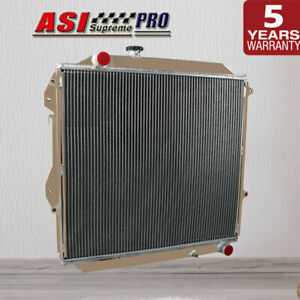 3Row Core Aluminum Radiator For 96-02 Toyota Surf KZN185 Prado KZJ90/KZJ95 MT AU