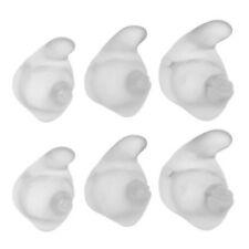 Jabra C120, Icon, Thinker, Jawbone Small, Medium, Large Ear Gels (6-Pack, Clear)